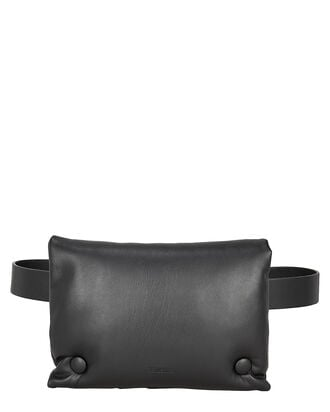 Tao Vegan Leather Belt Bag, BLACK, hi-res