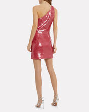 Serena Sequin Mini Dress, PINK SEQUINS, hi-res
