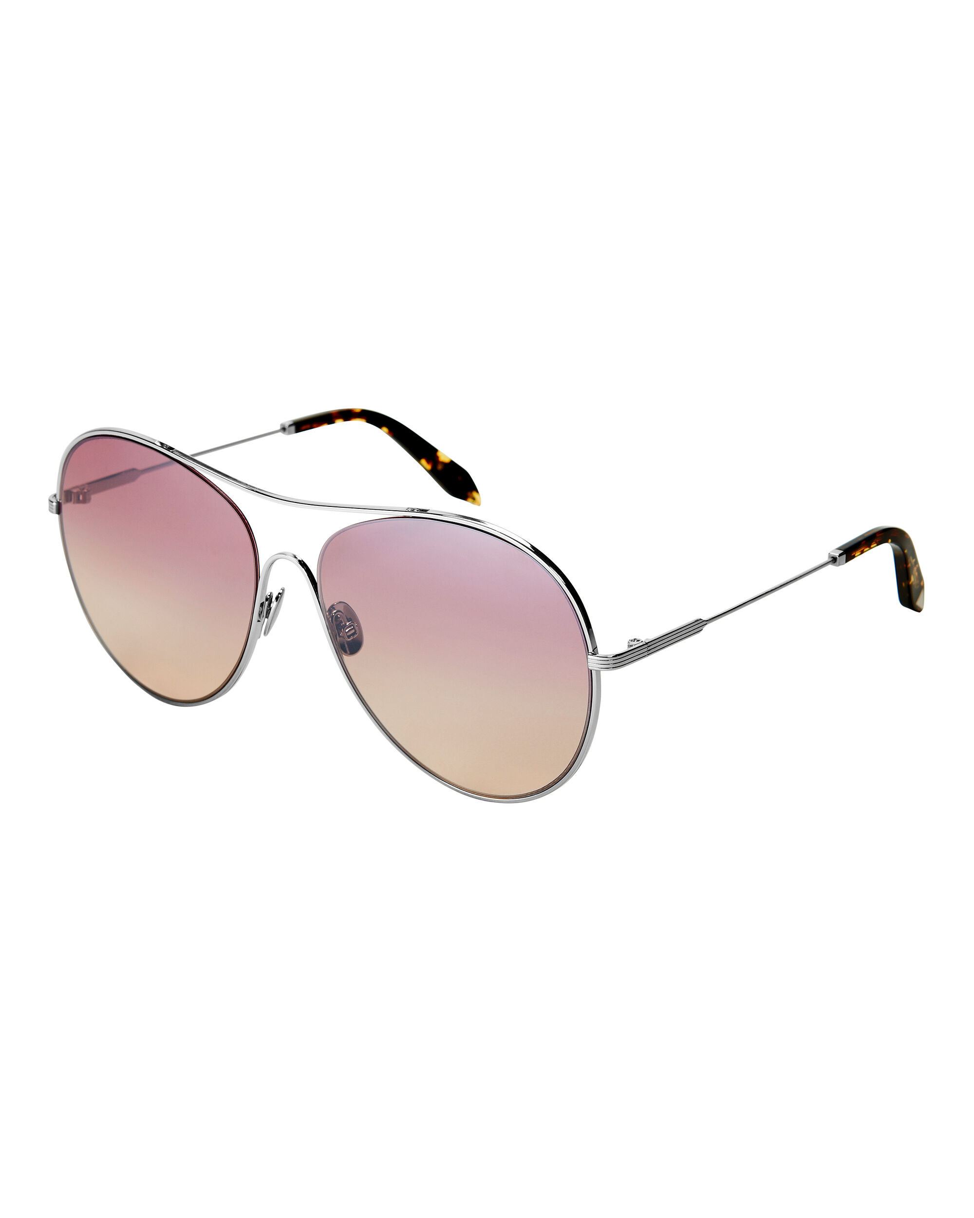 Gold Loop Round Sunglasses, GOLD, hi-res