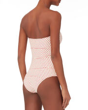 Poppy Polka Dot One Piece Swimsuit, PRINT, hi-res