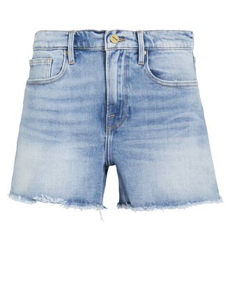 Le Brigitte Shorts, LIGHT WASH DENIM, hi-res