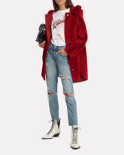 Reversible Red Parka, RED, hi-res