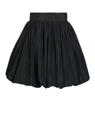 Balloon Mini Skirt, BLACK, hi-res