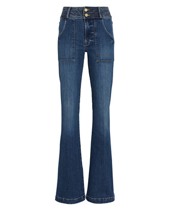 Le High Flare Jeans, TRAPUNTO, hi-res