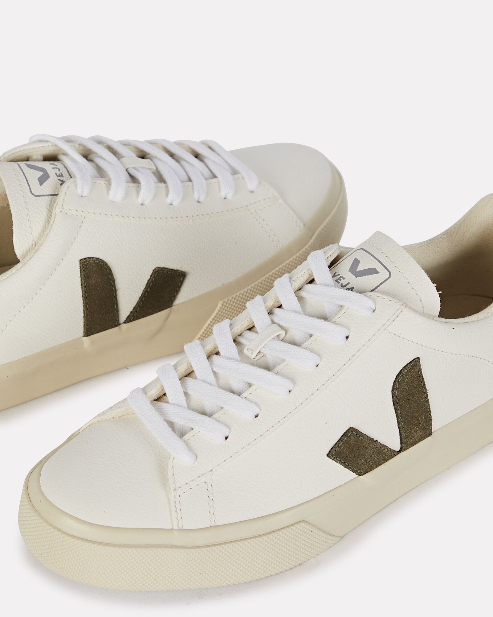 Campo Low-Top Sneakers, WHITE, hi-res