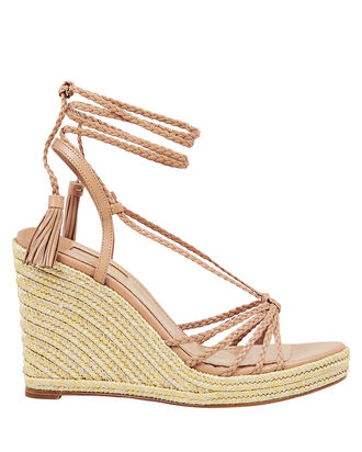 Savannah Espadrille Wedges, BEIGE, hi-res