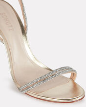 Cauani Crystal Wrap Sandals, GOLD, hi-res