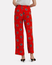 Kochhar Fiery Red Pants, RED, hi-res