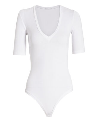 Bedford Bodysuit, WHITE, hi-res
