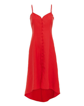 Linette Midi Dress, RED, hi-res