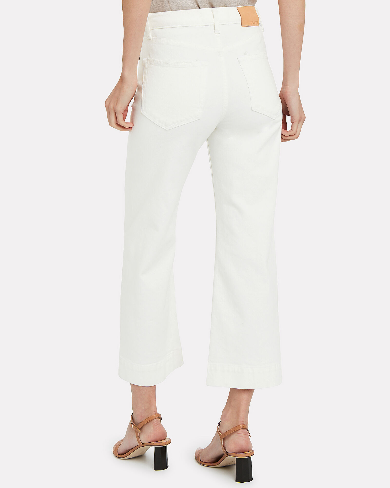 Audrey Cropped Wide Leg Jeans, WHITE, hi-res