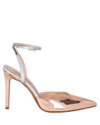 Carine Patent Leather Pumps, ROSE, hi-res