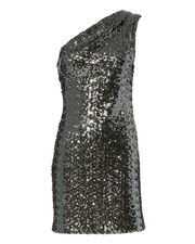 Valentina Sequin Mini Dress, SILVER, hi-res