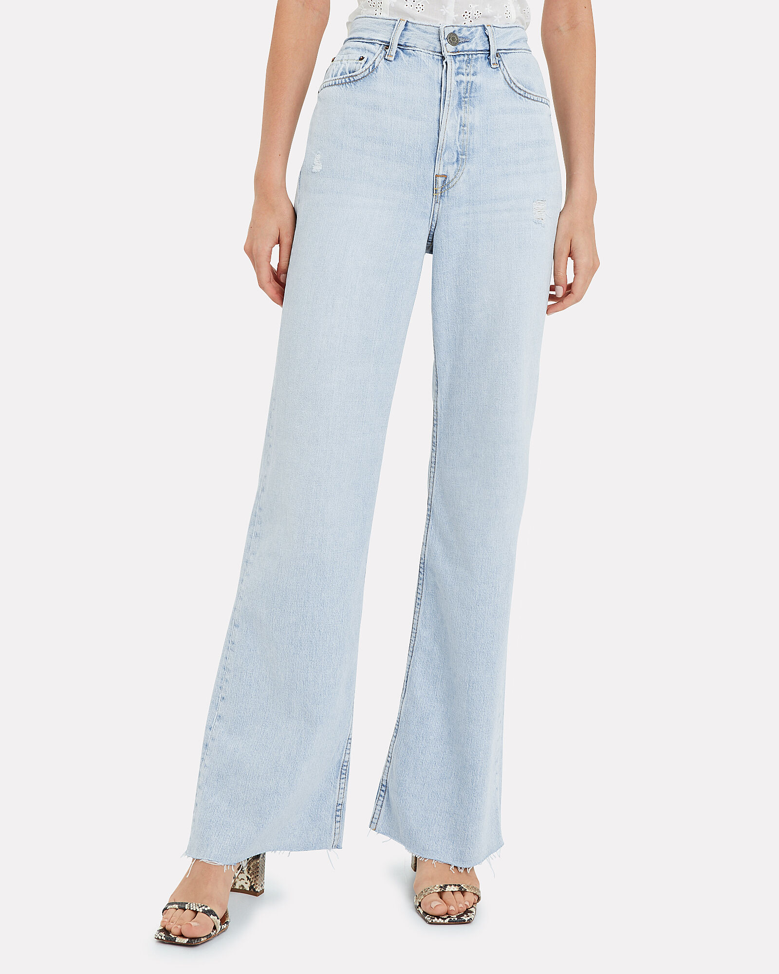 Carla Wide Leg Jeans, DENIM-LT, hi-res