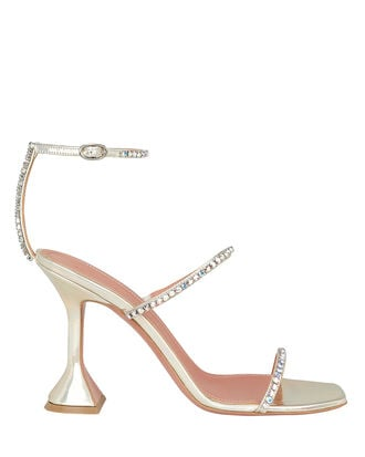 Crystal Embellished Gilda Sandals, GOLD, hi-res