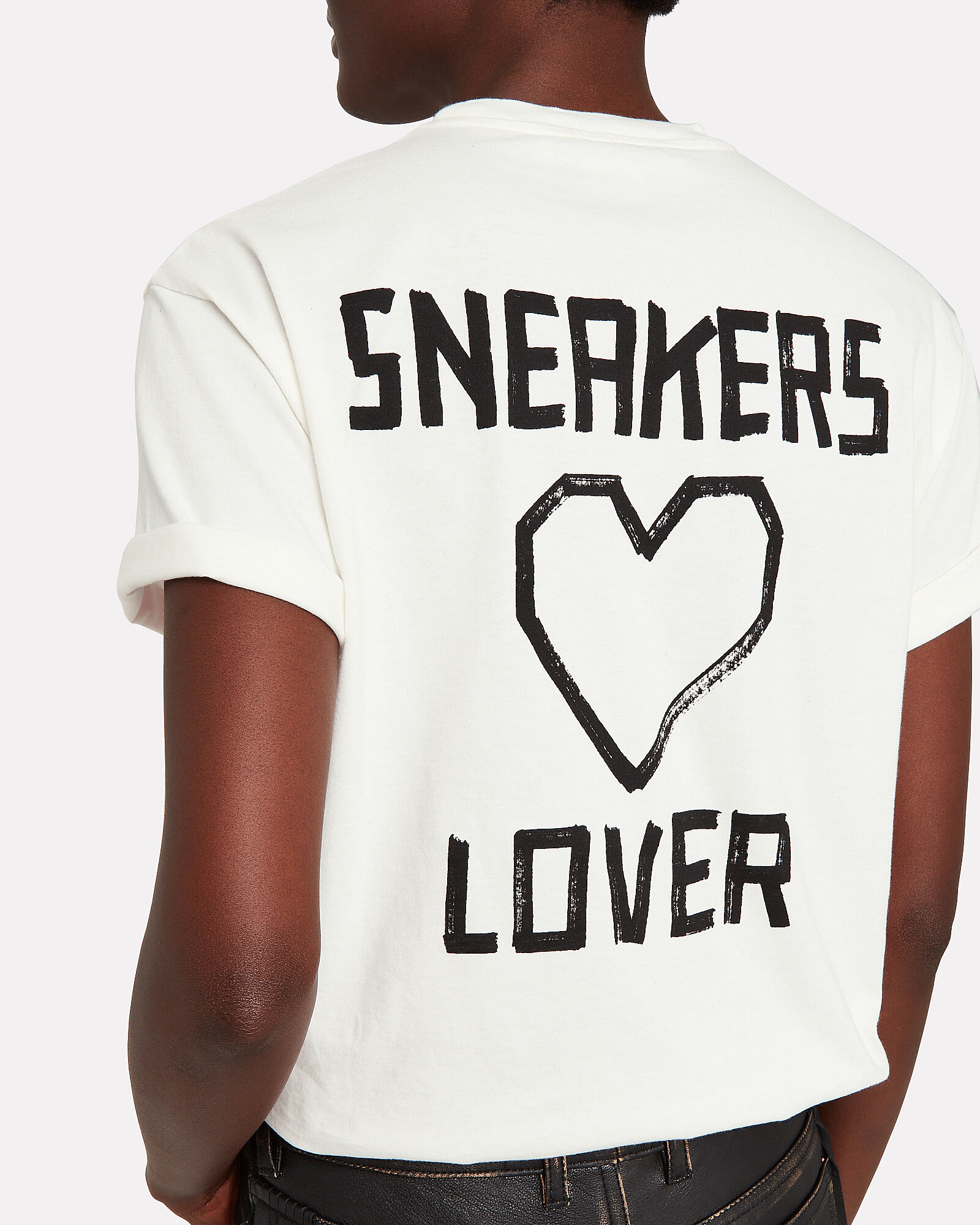 Sneaker Lovers Cotton T-Shirt, WHITE, hi-res