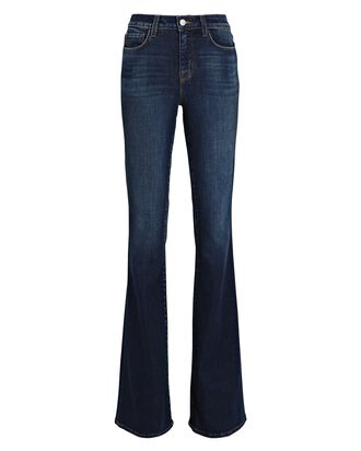 Bell Flared High-Rise Jeans, KNOX, hi-res