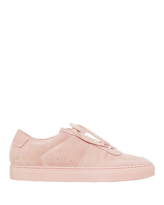 Bball Suede Low-Top Sneakers, PINK, hi-res