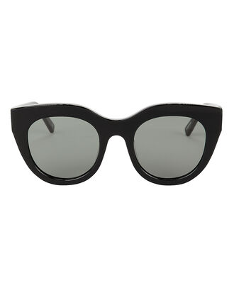 Airy Canary Cat Eye Sunglasses, BLACK, hi-res