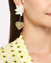 Antonia Orchid Earrings, WHITE/GOLD, hi-res
