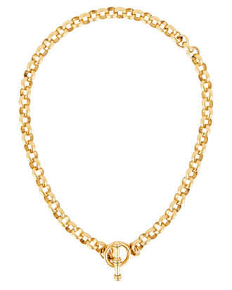 Verona Rolo Chain Necklace, GOLD, hi-res