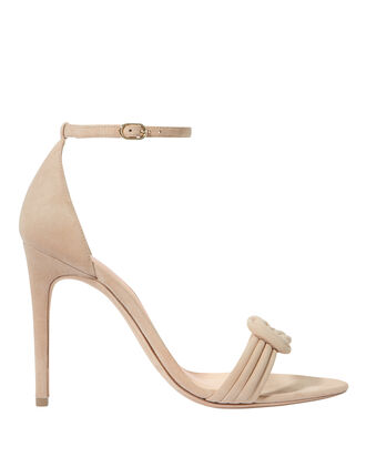 Malica Knot Strap Stiletto Sandals, BEIGE, hi-res