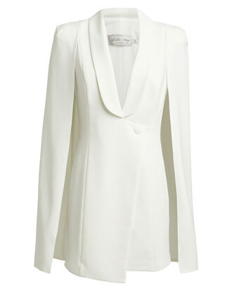 Boss Lady Cape Dress, IVORY, hi-res