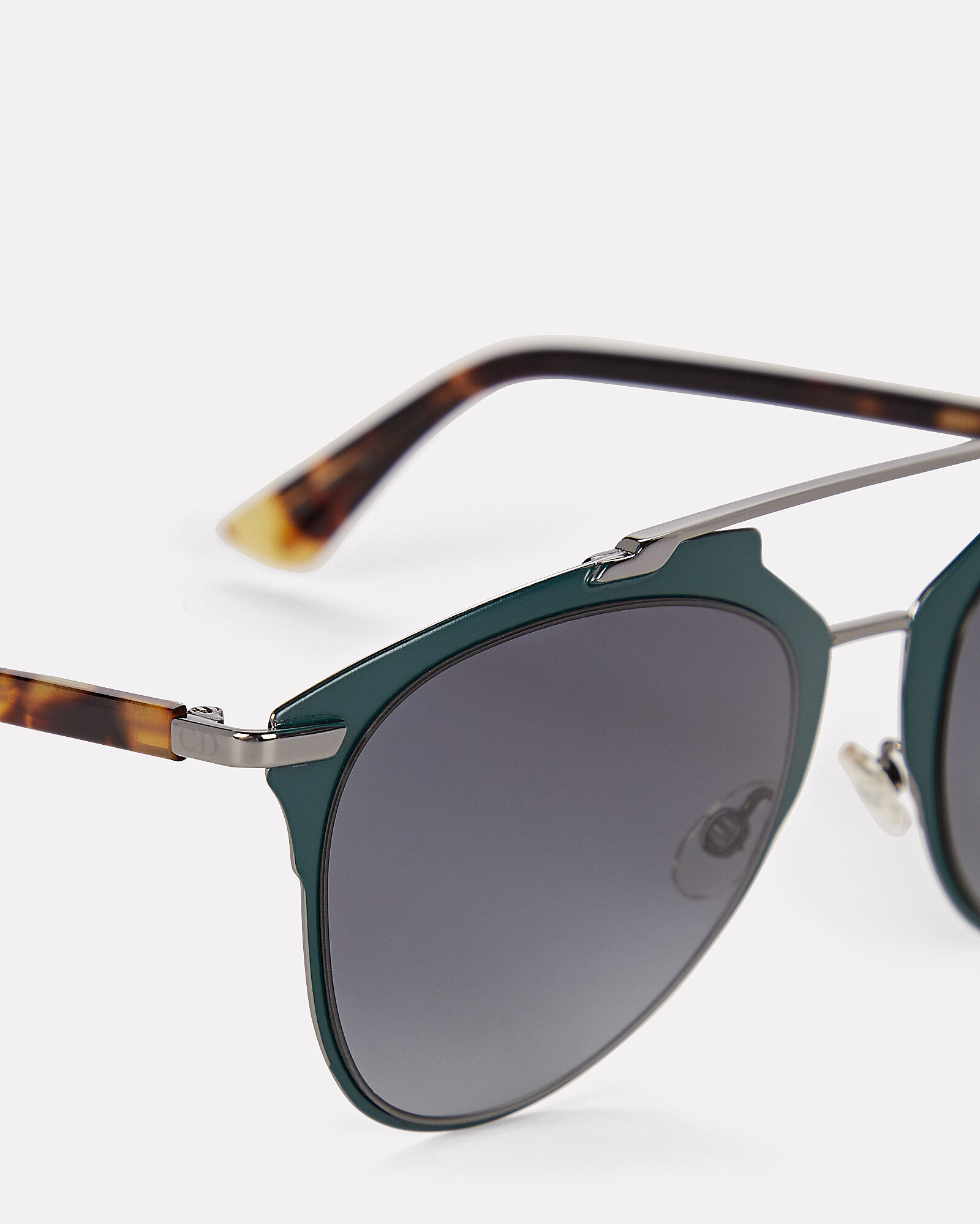 DiorReflected Sunglasses, GREEN, hi-res
