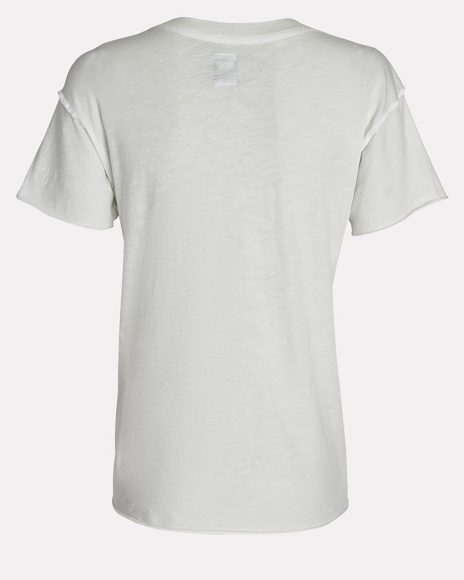 Moore Distressed T-Shirt, WHITE, hi-res
