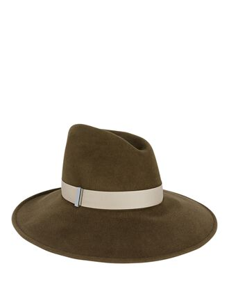 Drake Medium Brim Hat, OLIVE/ARMY, hi-res