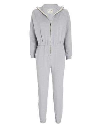 Mojave Terry Jumpsuit, GREY, hi-res