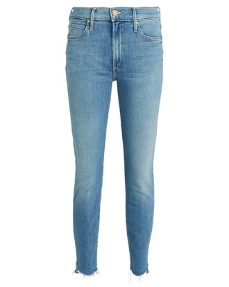 Stunner Zip Ankle Step Fray Jeans, DENIM, hi-res