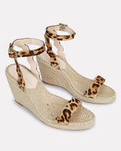 Parker Leopard Print Wedge Sandals, BROWN/BLACK/PRINT, hi-res