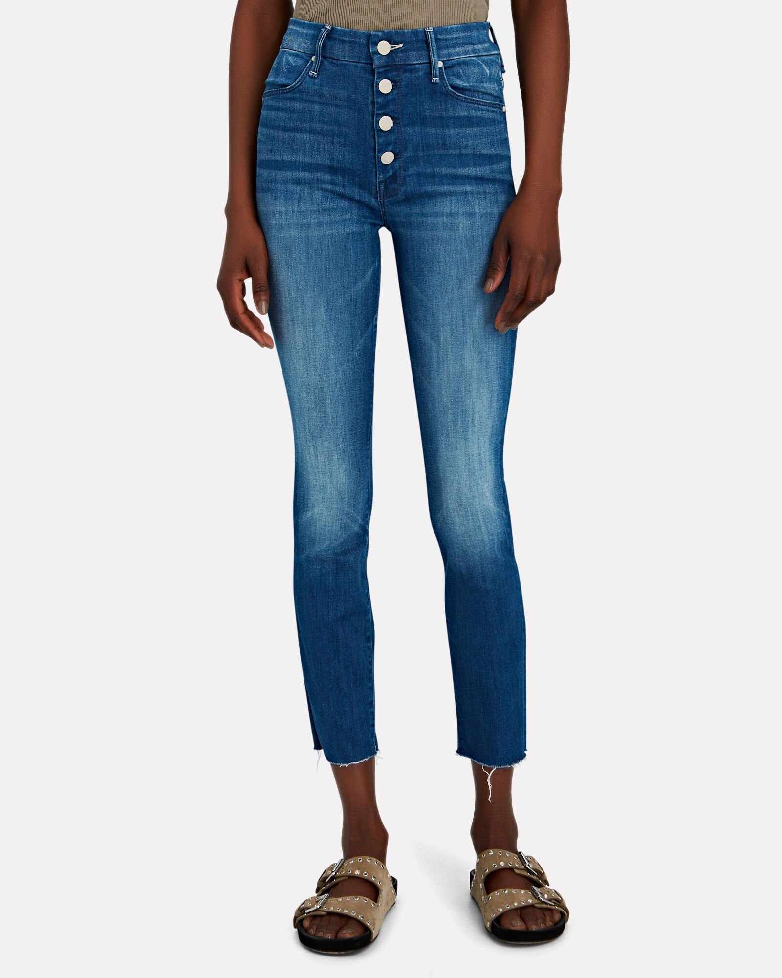 The Pixie Ankle Fray Jeans, SECOND THYME AROUND, hi-res