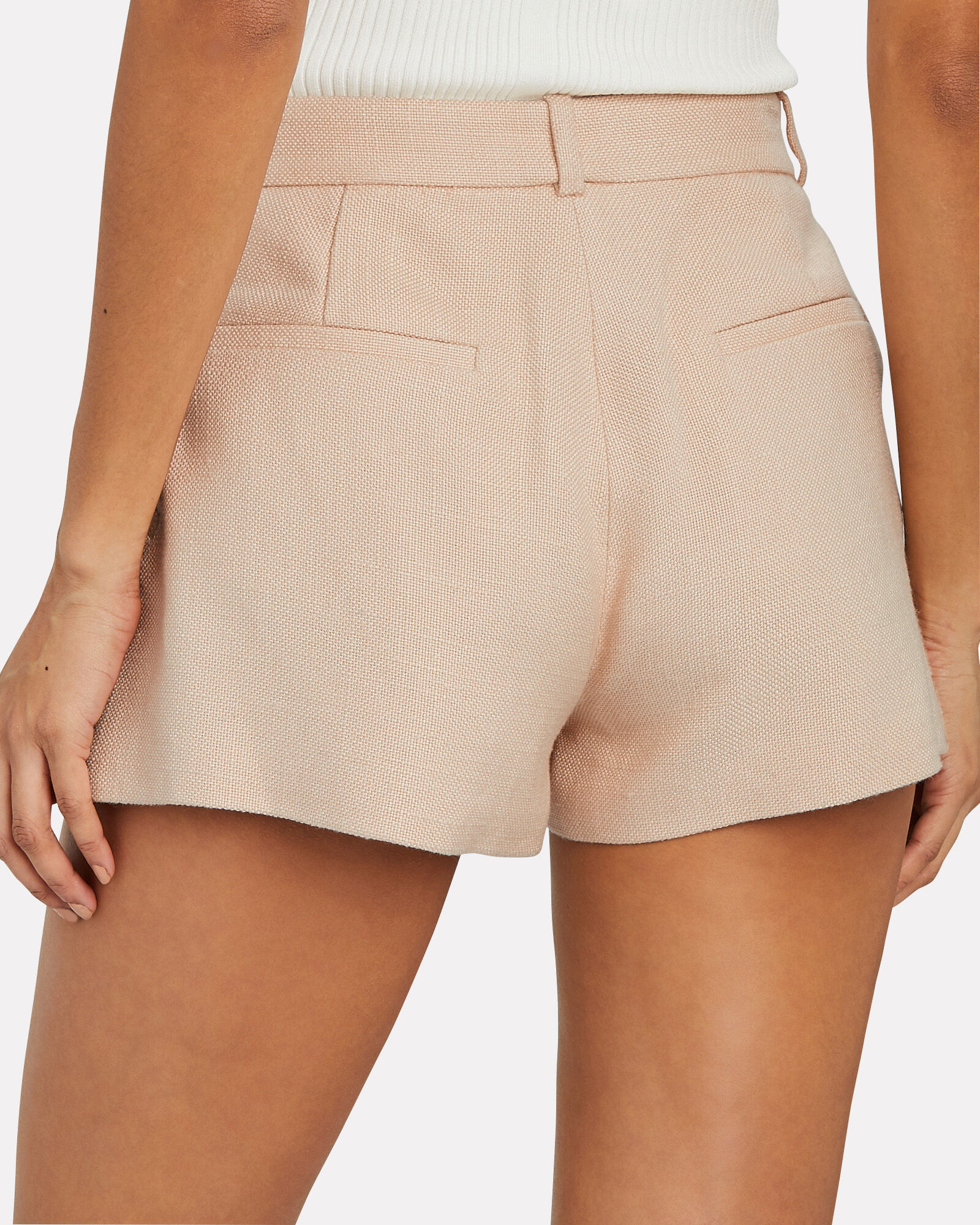 Tailored Suiting Shorts, BLUSH, hi-res