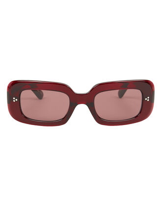 Saurine Sunglasses, BURGUNDY ACETATE, hi-res