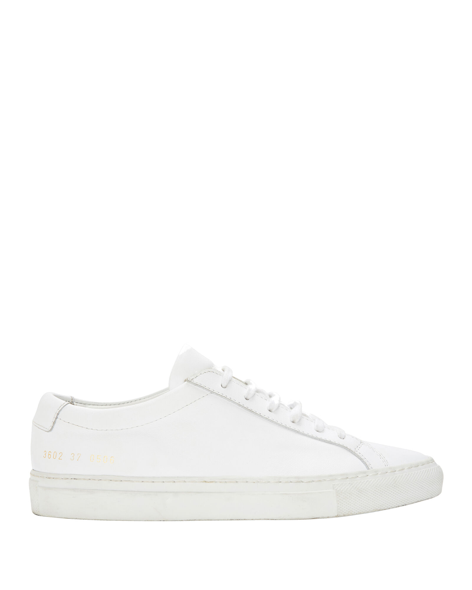 Achilles Leather Sneakers, WHITE, hi-res