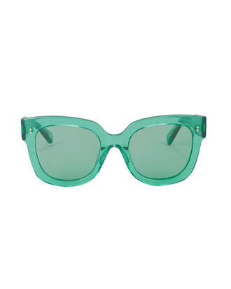 #008 Aqua Clear Lens Sunglasses, AQUA/CLEAR ACETATE, hi-res