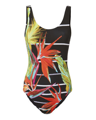 Kelly Botanical Jungle One Piece Swimsuit, PRINT, hi-res
