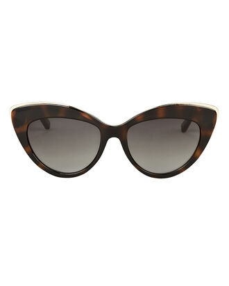 Beautiful Stranger Sunglasses, BROWN/BLACK, hi-res