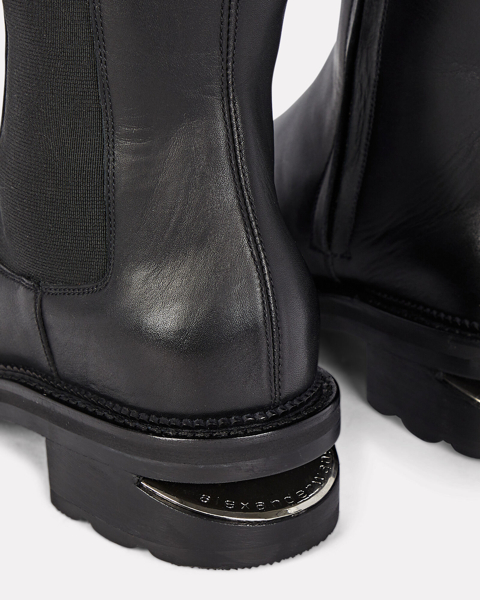 Andy Knee-High Riding Boot, BLACK, hi-res