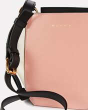 Small Leather Gusset Tote Bag, PINK, hi-res