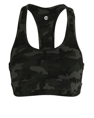 Front Row Sports Bra, BLACK/ARMY, hi-res