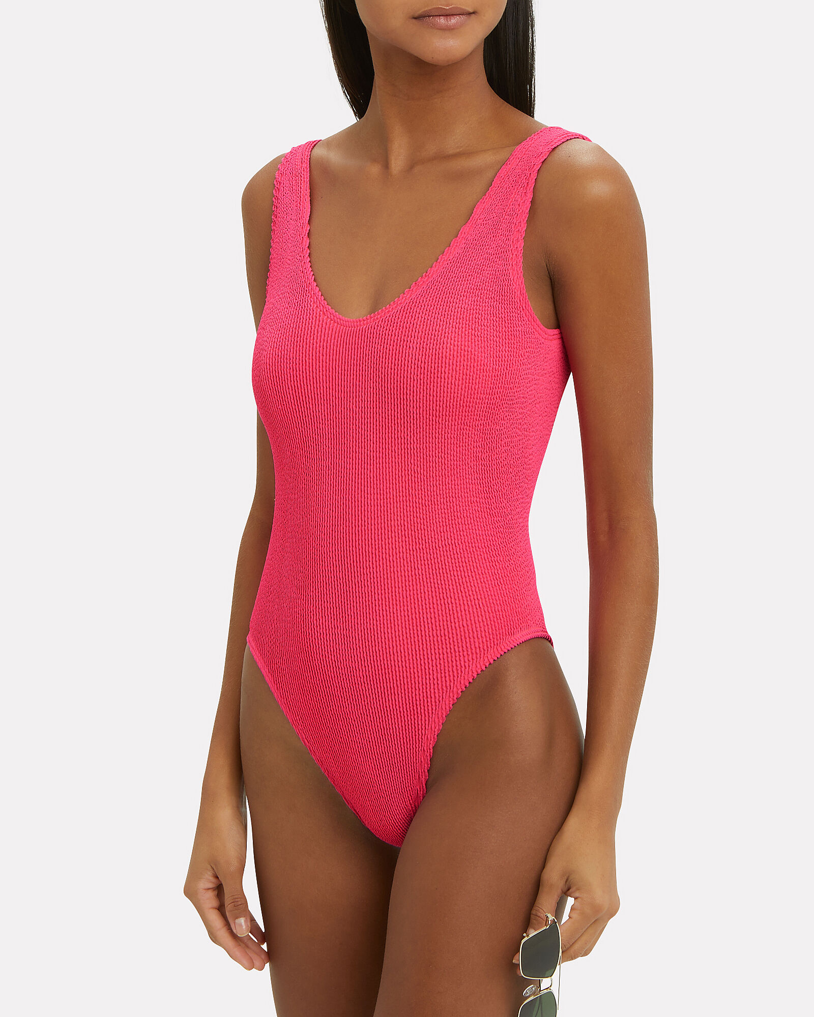 Mara One Piece Swimsuit, PINK, hi-res