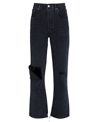 Riley High-Rise Cropped Jeans, CONTRABAND, hi-res