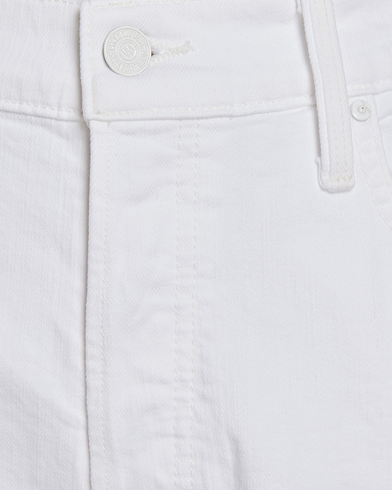 The Scrapper Cuff Ankle Fray Jeans, WHITE, hi-res