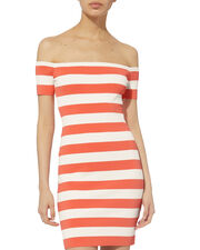 Eviva Striped Dress, MULTI, hi-res