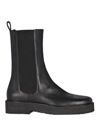 Palamino Leather Chelsea Boots, BLACK, hi-res