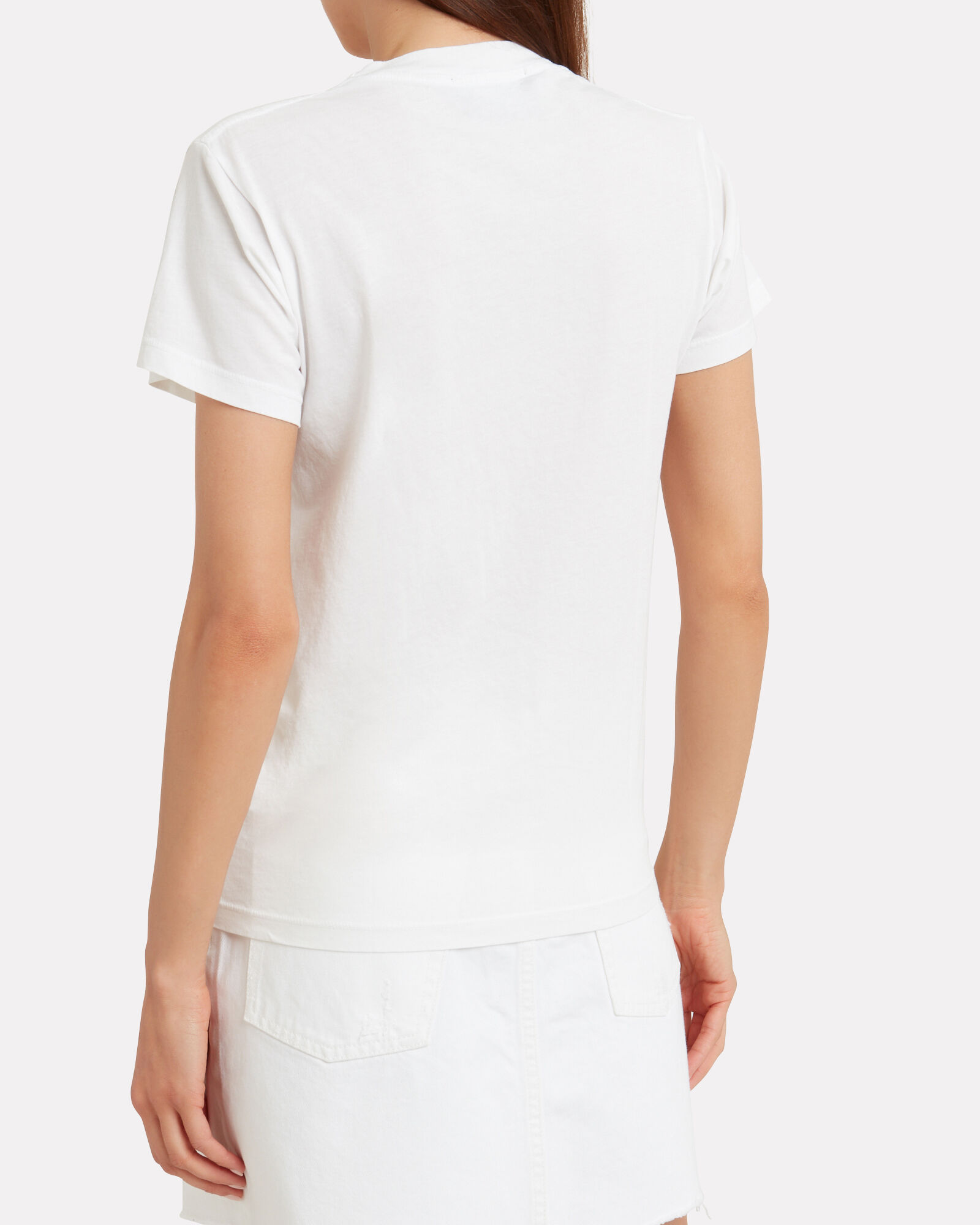 Le Weekend Jersey T-Shirt, WHITE, hi-res