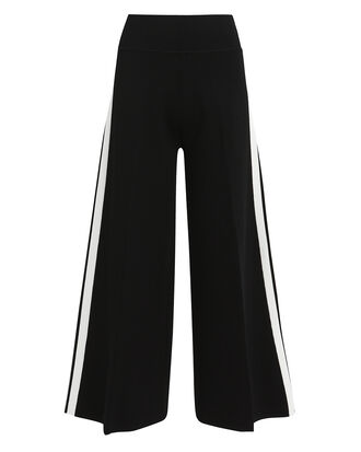 Roland Cropped Pants, BLACK/WHITE, hi-res
